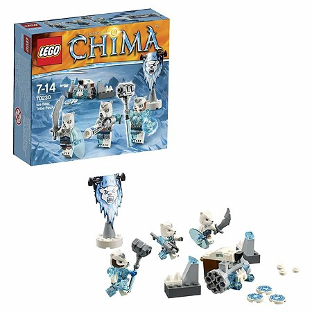 Конструктор LEGO Chima Лагерь Ледяных медведей (70230)