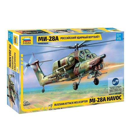 Модель для сборки Звезда Вертолет Ми-28а
