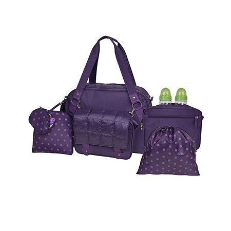 Сумка 2 в 1 для мамы Baby Street Purple