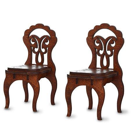 Набор Одним прекрасным утром с 2-мя стульями, коричневый