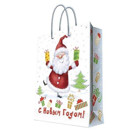 Пакет бумажный Magic Time Веселый Санта