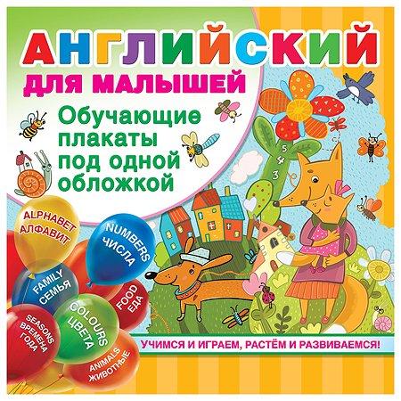 Книга АСТ Английский для малышей обучающие плакаты под одной обложкой