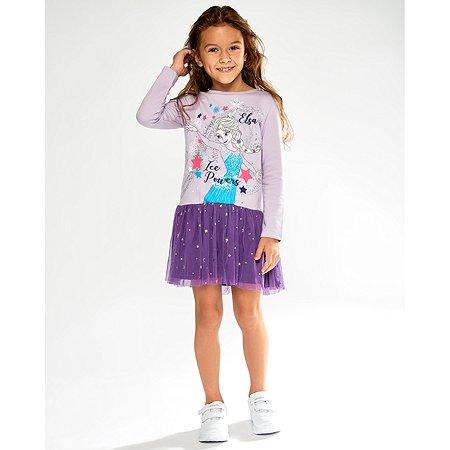 Платье Frozen фиолетовое