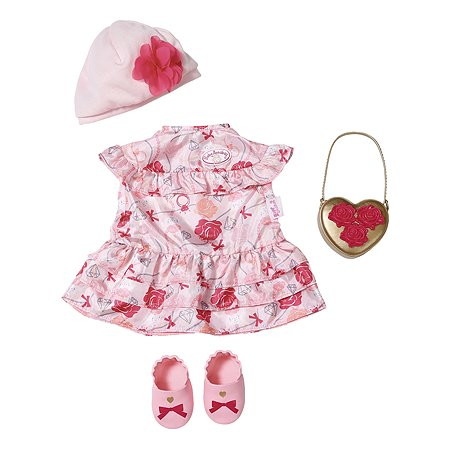 Одежда для кукол Zapf Creation Baby Annabell Цветочная коллекция Делюкс 702-031