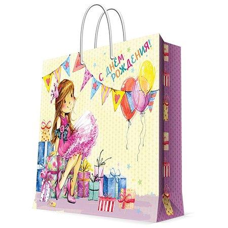 Пакет бумажный Magic Time Модница 33*16*41см