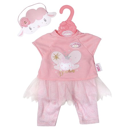 Одежда для кукол Zapf Creation Baby Annabell Пижама Феечка 702-048