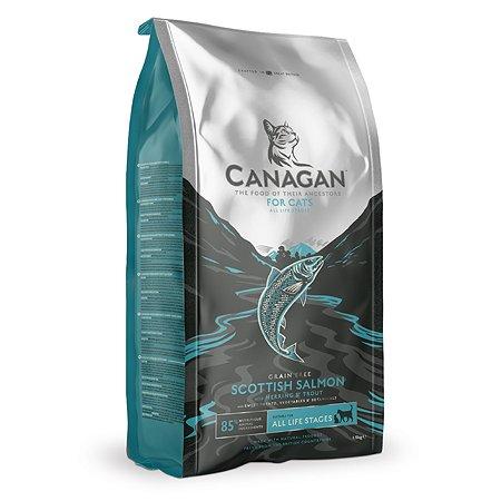 Корм для кошек Canagan Scottish лосось 1.5кг