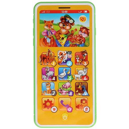 Игрушка УМка Телефон Учим животных 282489