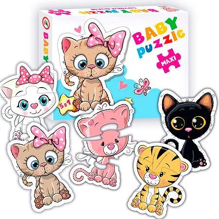 Пазлы для малышей Дрофа-Медиа Baby Puzzle Котята 5 фигурок животных 3842