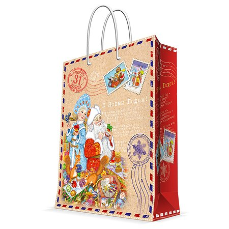 Пакет бумажный Magic Time Письма Деду Морозу