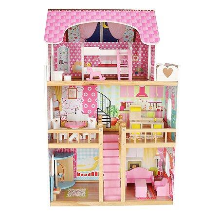 Дом для кукол Demi Star с аксессуарами 14 шт. OC-DH-001 new