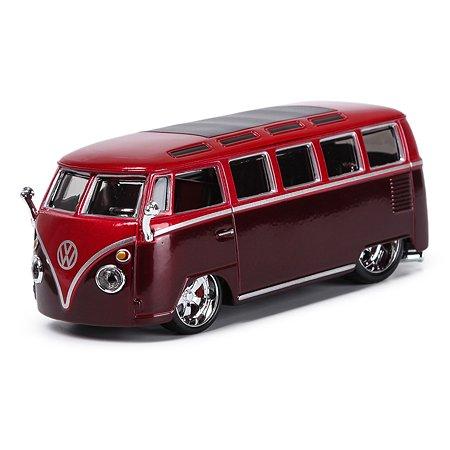 Машина BBurago 1:32 Volkswagen Van Samba 18-42004