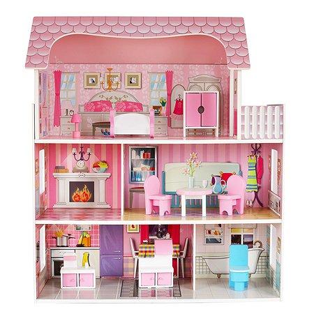 Дом для кукол Demi Star с аксессуарами 9 шт. OC-DH-002 new