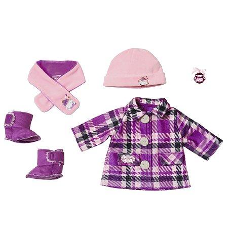 Одежда для кукол Zapf Creation Baby Annabell Модная зима 702-864