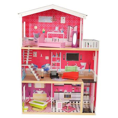 Дом для кукол Demi Star с аксессуарами 10 шт. OC-DH-004A