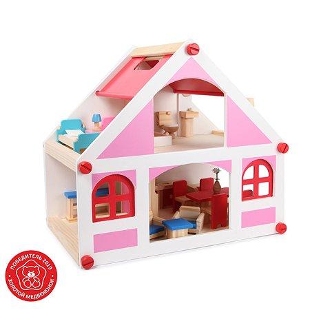 Дом для кукол Demi Star с аксессуарами 21 шт. OC-WH-010B
