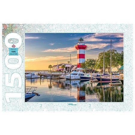 Пазл Step Puzzle США Остров Хилтон-Хед Маяк Харбор 1500элементов 83063