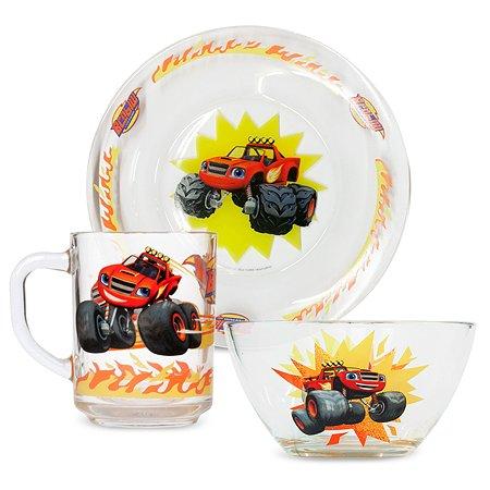 Набор посуды ND PLAY Вспыш и чудо машинки Вспыш Скорость 3предмета 272019