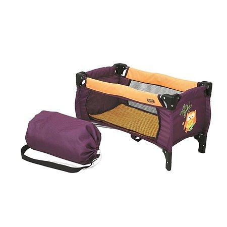 Манеж-кроватка кукольный Demi Star складной в ассортименте