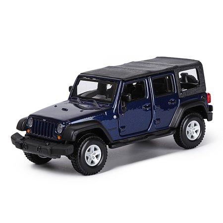 Машина BBurago 1:32 Jeep Wrangler Unlimited Rubicon 18-43012