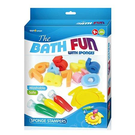 Краски для ванной Оранжевый слон со спонжиками