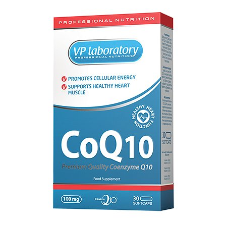 Куэнзим VPLAB Q10 100мг 30капс