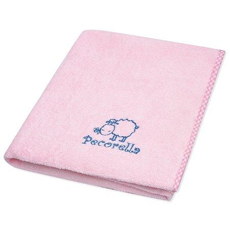 Полотенце на липучке Pecorella Розовое
