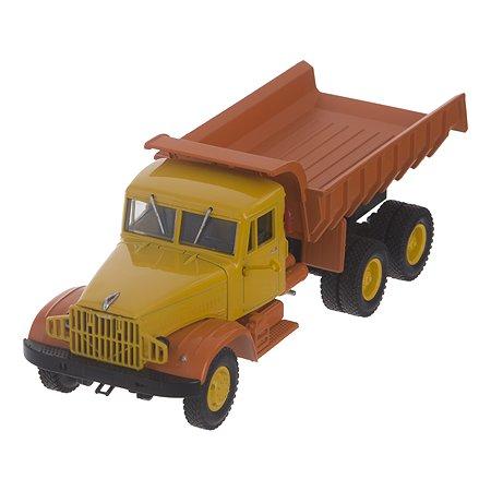 Машина Наш автопром КрАЗ-222Б 256Б 1966-69 желто-оранжевый 1:43
