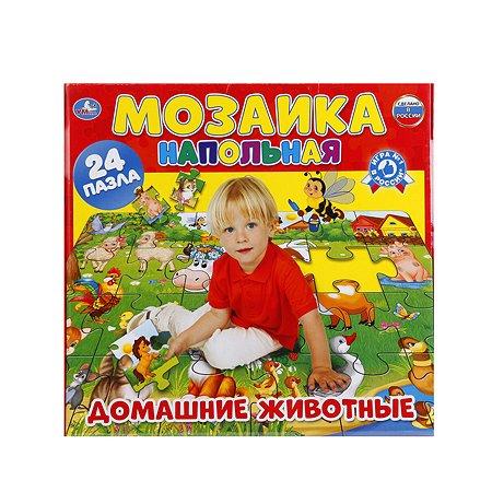 Напольная мозаика УМка Домашние животные, 24 дет.
