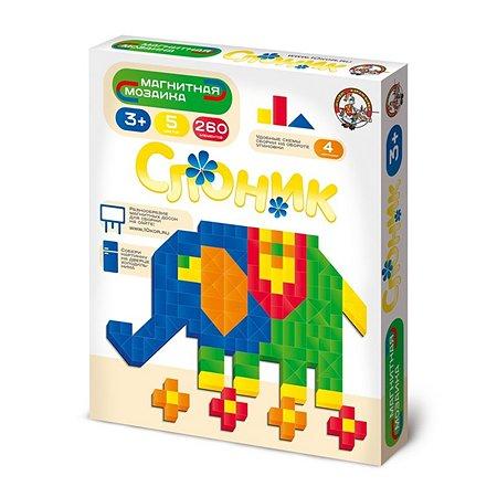 Мозаика магнитная Десятое королевство слон/верт в ассортименте