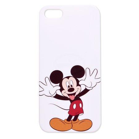 Крышка задняя для iPhone 5 Disney Микки Белый