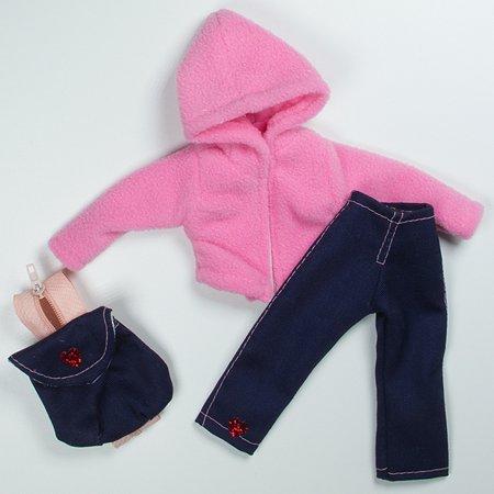 Набор одежды для кукол Модница с рюкзаком в ассортименте 9999