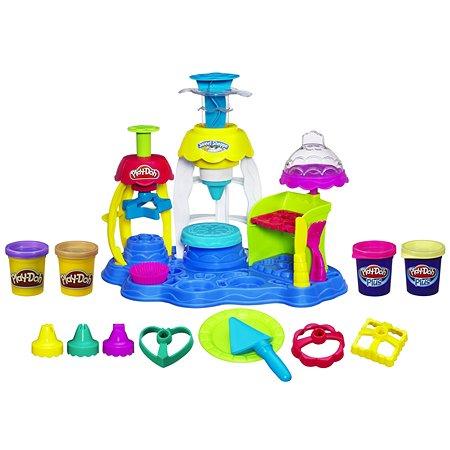 Игровой набор Play-Doh PLUS Фабрика пирожных