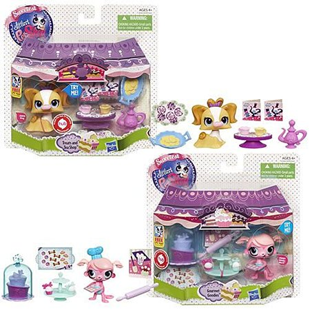 Игровой набор Littlest Pet Shop Деликатесы в ассортименте
