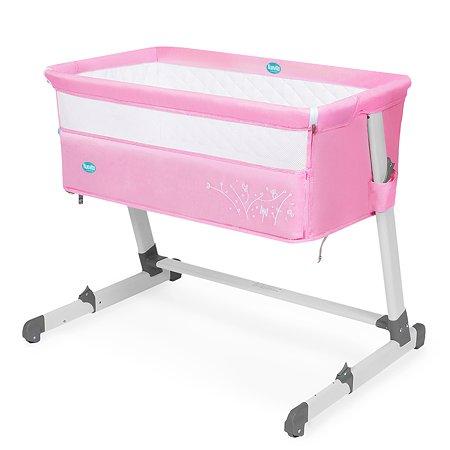 Кроватка Nuovita Accanto приставная Rosa Розовый