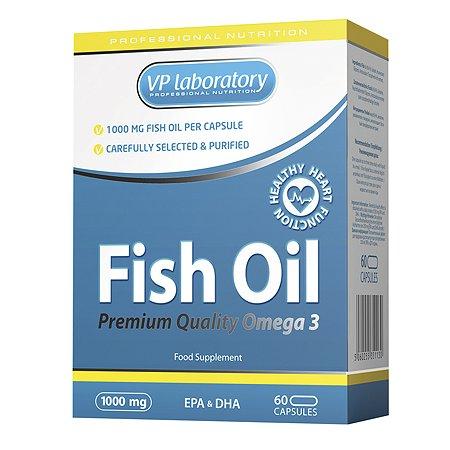 БАД VPLAB Fish Oil 60капс