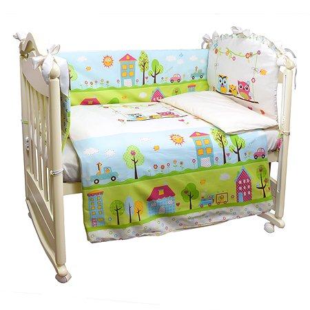 Комплект в кроватку Babyton Flip-Flap 4 предмета