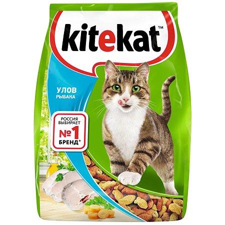 Корм сухой для кошек KiteKat 350г Улов рыбака