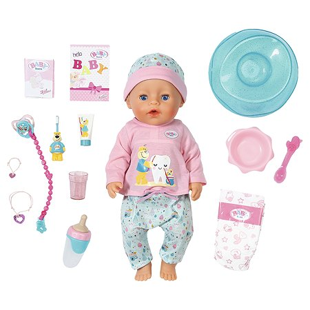 Кукла Zapf Creation Baby Born Чистим зубки 827-086