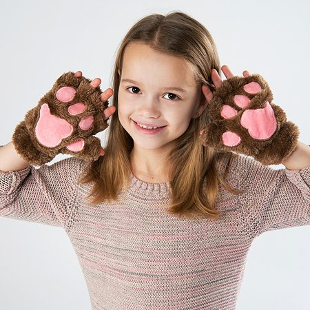 Перчатки Attivio без пальцев Коричневый YS0229365