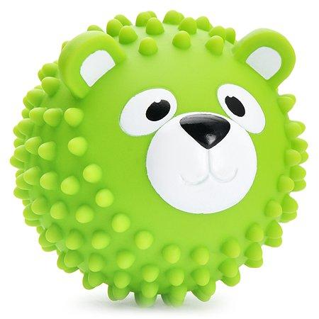 Мяч массажный ЯиГрушка Мишка Зелёный