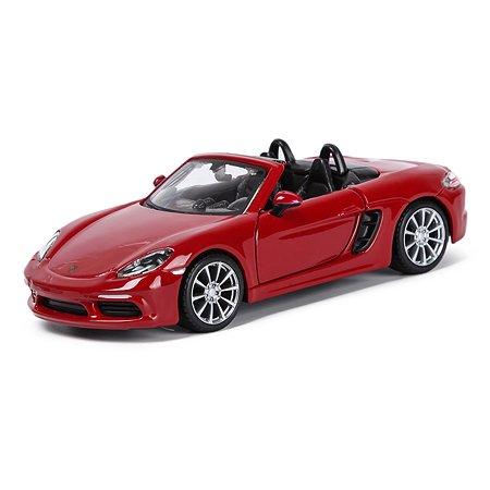 Машина BBurago 1:32 Porsche 718 Boxster 18-43049
