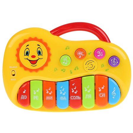 Игрушка УМка Пианино с кнопками-зверушками 242161