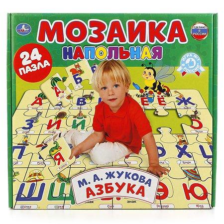 Мозаика УМка напольная Азбука Жукова 24 пазла 236695