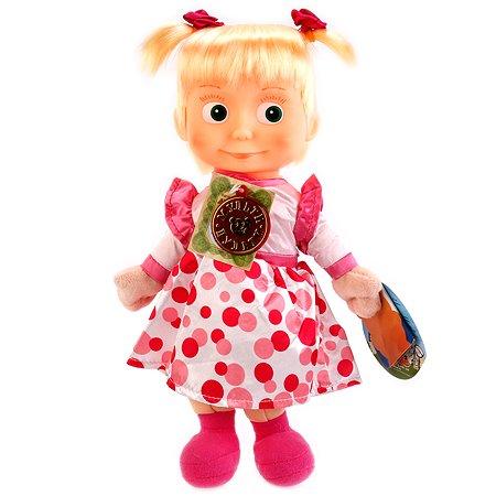 Игрушка мягкая Мульти-Пульти Маша и медведь Маша в нарядном платье 252911