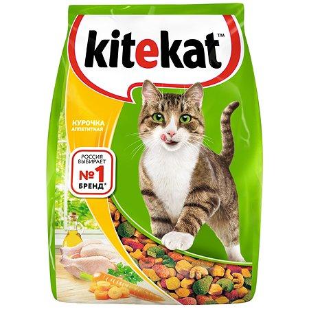 Корм сухой для кошек KiteKat 350г аппетитная курочка