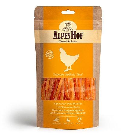 Лакомства для щенков и собак AlpenHof мелких пород Фрикасе из курицы 50г
