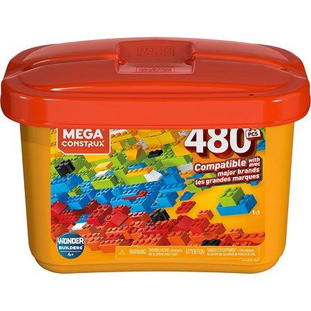 Конструктор Mega Construx Wonder Builders 480деталей GJD23