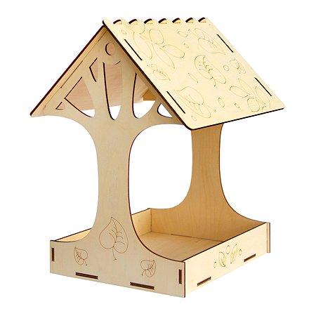 Сборная модель Символик Большое дерево Кормушка №7 Символик