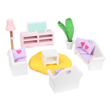 Набор для кукольного дома ELC Rosebud Гостиная 146044
